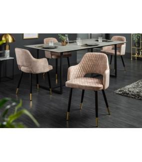 Krzesło Paris Velvet Greige