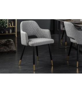 Krzesło Paris jasnoszare