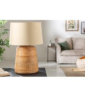 Lampa stołowa Core 96 cm rattan naturalna