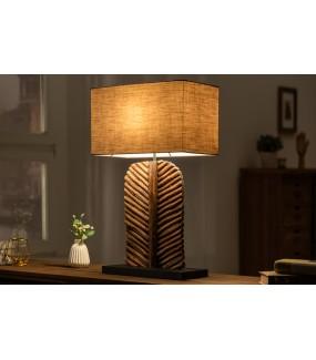 Lampa Stołowa Leef Longan 63 Cm brązowa