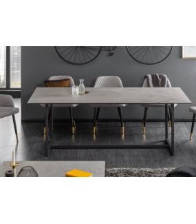 Stół SZMARAGD 200 w optyce betonu
