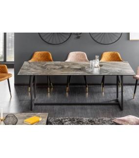 Stół SZMARAGD 200 cm w optyce marmuru  do salonu