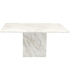 Stół Artistico 160 cm w optyce marmuru do salonu