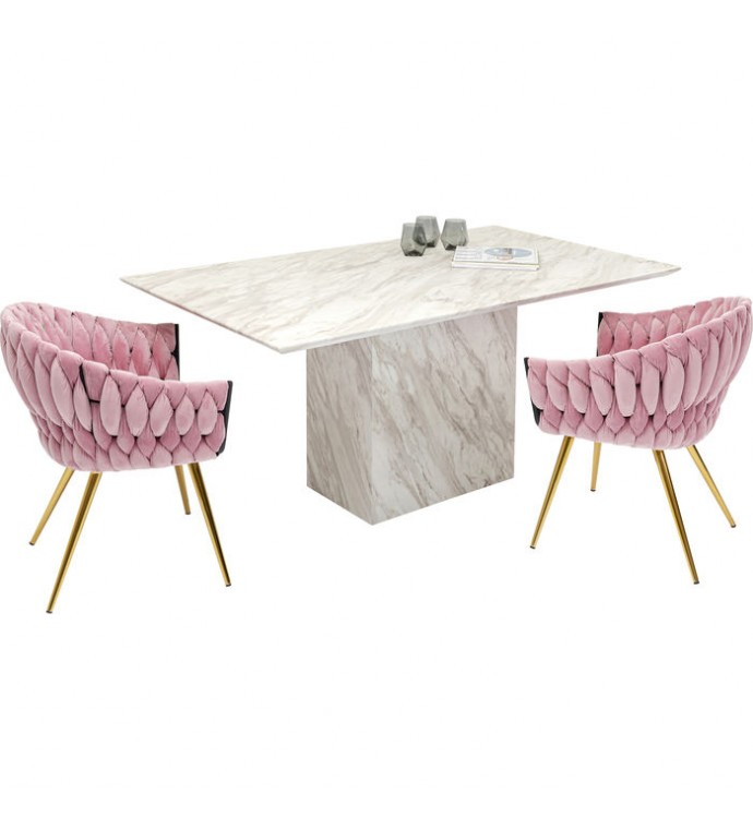 Stół Artistico 160 cm w optyce marmuru