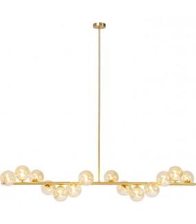 Lampa wisząca Scala Balls Brass 150 cm złota