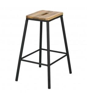 Industrialny stołek do jadalni