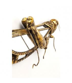 Ozdoba ścienna Grasshopper 28 cm x 37 cm