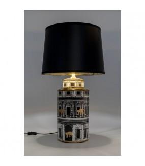 Lampa Palazzo czarna do salonu