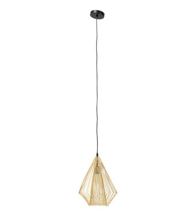 Lampa Wisząca Modo Wire Złota