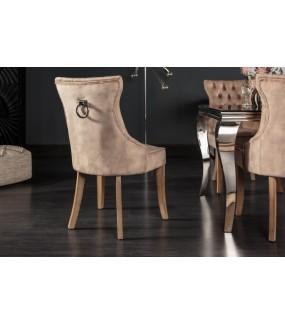 Krzesło Lorena Cappuccino do salonu