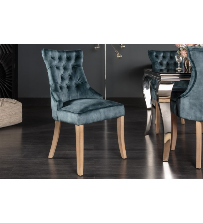Krzesło LORENA niebieskie