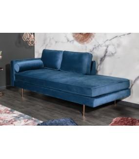 Sofa DIANA 196 cm niebieska