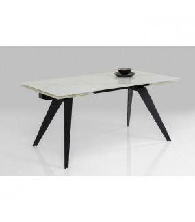 Stół rozkładany Amsterdam 160 cm - 240 cm optyka marmuru