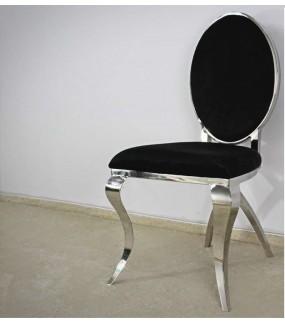 Krzesło Modern barock czarne