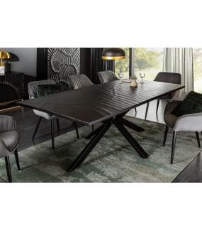 Stół ZEUS 200 cm czarny