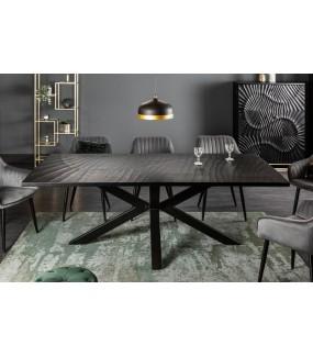Stół ZEUS 200 cm czarny do salonu