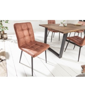 Krzesło GASPAR brązowe