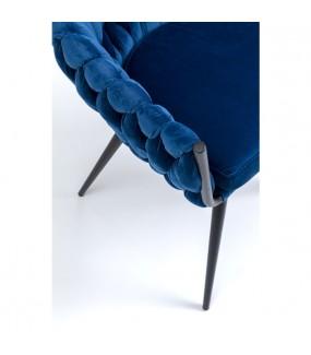 Krzesło Knot niebieskie