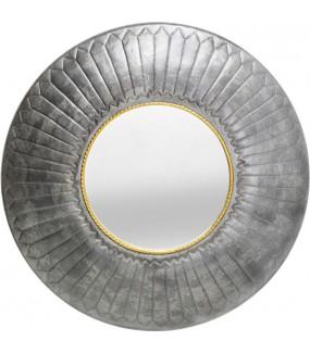 Lustro ROPE 115 cm srebrne