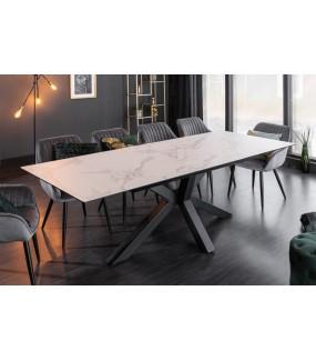 Stół rozkładany JUKON 180 cm - 225 cm optyka marmuru