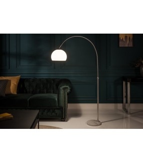 Lampa podłogowa JULIETTA 135 cm -157 cm biała