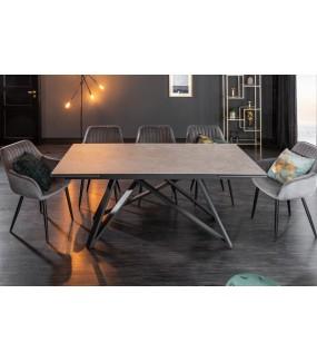 Stół rozkładany ALASKA 180 cm - 220 cm- 260 cm ceramika w optyce betonu