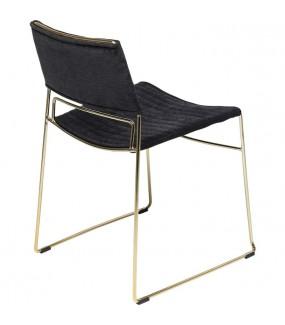 Krzesło Hugo czarne