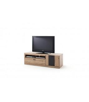 Stolik pod TV CALAIS 159 cm W Kolorze Dębowym