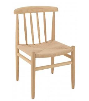 naturalne krzesło na balkon