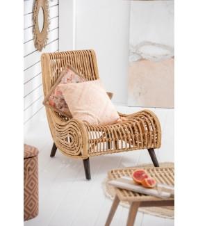 Fotel rattanowy Lirene