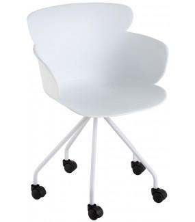 Fotel biurowy Eva biały