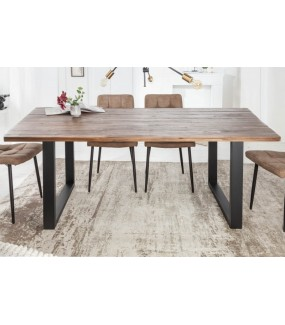 Industrialny stół do salonu lub jadalni