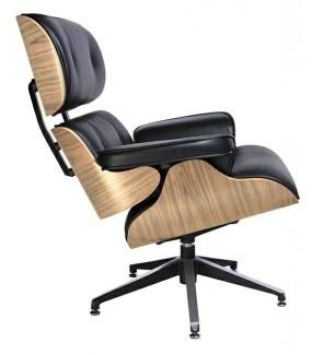 Fotel biurowy Lounge czarny