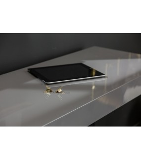 Konsola Oro gris 120 cm x 40 cm szary