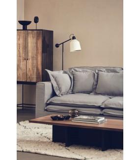 Sofa MEIKE 225 cm szara