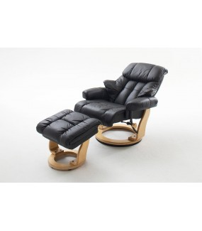 Fotel CALGARY czarny do salonu