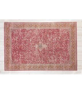 Dywan Orient Design 350 cm x 240 cm czerwony w stylu retro.