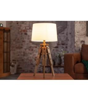Lampa stołowa TREISI 60 cm biała