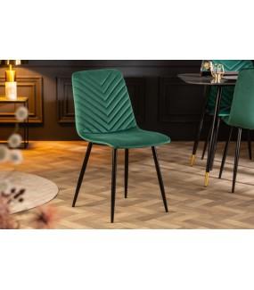 Krzesło Emil Aksamit zielony
