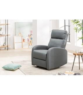 Fotel rozkładany DALLAS szary