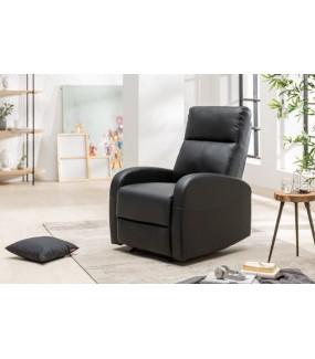Fotel rozkładny DALLAS czarny