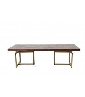 Piękny stolik kawowy do nowoczesnego salonu. Pięknie zaaranżuje wnętrze klasycznego pokoju