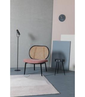 Fotel SPIKE różowy do salonu czy jadalni w stylu nowoczesnym