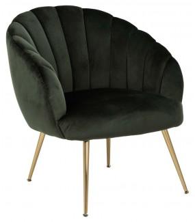 Fotel DANIELLA ciemnozielony