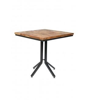 Stół Maze 75 cm teak do salonu