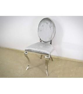 Krzesło VIENNA Modern Barock Srebrne