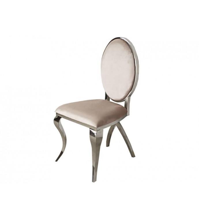 Krzesło Modern Barock VIENNA beżowe