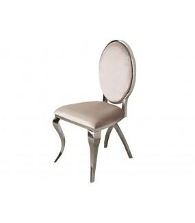 Krzesło Modern Barock VIENNA beżowe do salonu