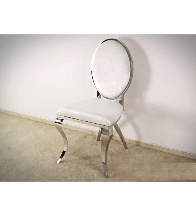 Krzesło VIENNA Modern Barock białe