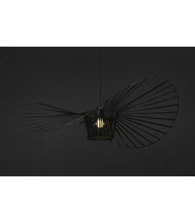 Lampa Wisząca CAPELLO 200 cm Czarna do salonu